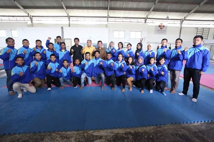 Forki Sumbar Usung 31 Karateka Menuju Kejurnas Piala Mendagri