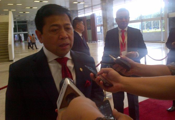 Ketua DPR Mengaku Belum Dengar Soal Usulan Hak Angket KTP-El