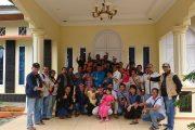 Bupati 50 Kota Sambut Kedatangan Rombongan Wartawan Kota Padang
