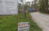 PT.Dhamor Utama Disinyalir Langgar Spesifikasi Teknis Pekerjaan Peningkatan Jalan Sungai Bangek