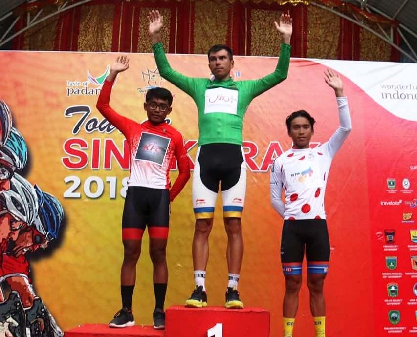 Peserta Baru Jadi Juara di Etape VI Tour de Singkarak 2018