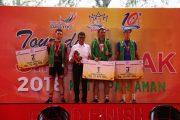 Gelaran Sport Tourism Tour de Singkarak 2018 telah mencapai Grand Finish