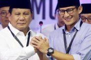 Kemenangan Prabowo-Sandi Pada Pemilu Presiden 2019 Sudah Didepan Mata