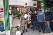 Satpol PP Padang Bersama Denpomal II Lakukan Razia Tempat Hiburan Malam