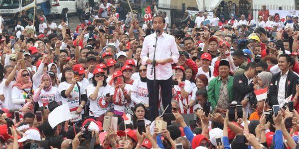 TKN Akui Elektabilitas Jokowi Turun di Jawa dan Sumatera