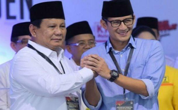 31 Provinsi Diklaim Sumber Suara Prabowo-Sandi