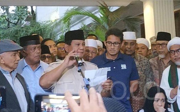 Manuver Strategi Sang Jenderal Prabowo. Angkat Semangat Pendukungnya